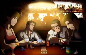 Heavy Rain: Poker Night by Maloneyberry