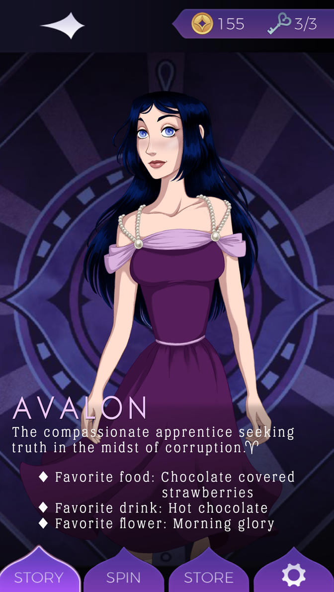 The Arcana: Avalon by Maloneyberry