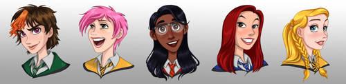 HPHM: Heroines of Hogwarts Mystery