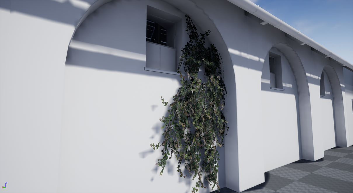 Ivy in Unreal Engine 4 by Sipi1989