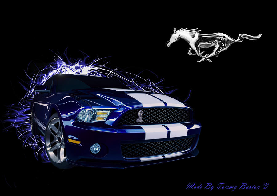 Abstract Ford Mustang Wallpaper By Ramones112 On Deviantart