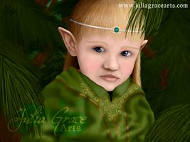 Elven Child by JuliaGraceArts