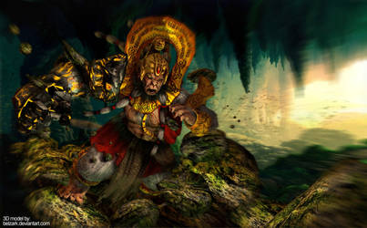 Hanuman by andytantowibelzark