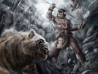 The Hunter by andytantowibelzark