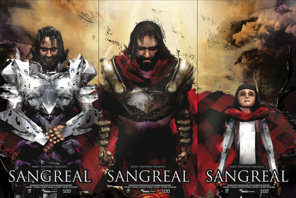 Sangreal Poster by Belzark