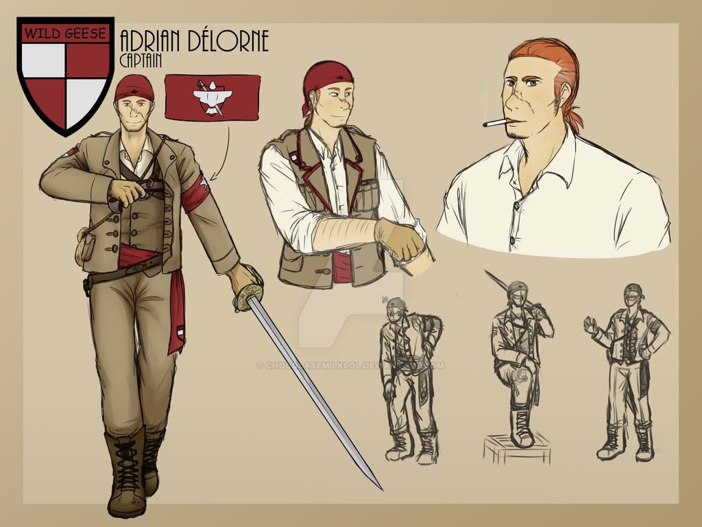 Character Concept: Adrian DeLorne by ChocolateMilkLOL