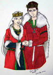 Ullr and AnneLyse by sparkysworks