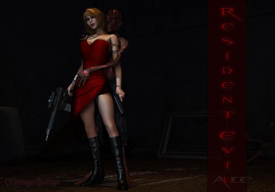Resident Evil: Alice by MongoBongoArt