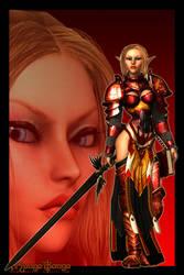 Blood Elf by MongoBongoArt
