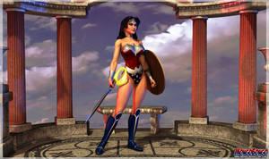 Wonder Woman by MongoBongoArt