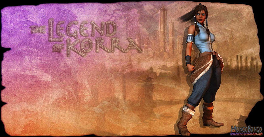 Legend of Korra by MongoBongoArt