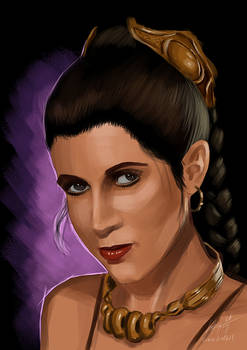 Stars Wars - Princess Leia (Carrie Fisher)