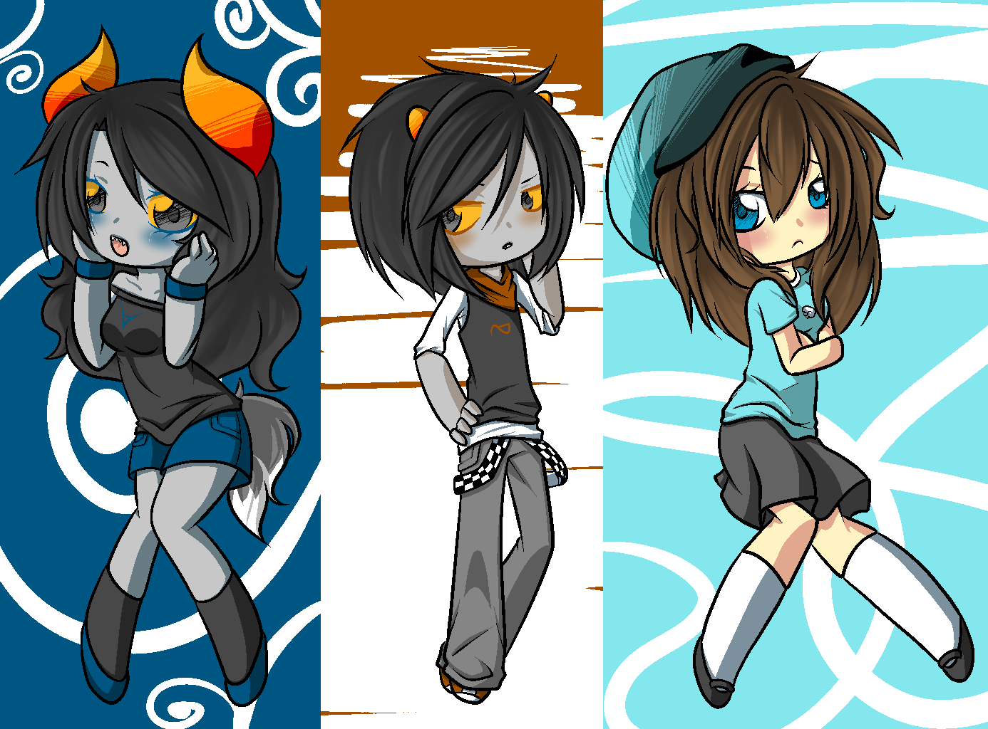 cute ocs by pastelxtentacles on deviantart
