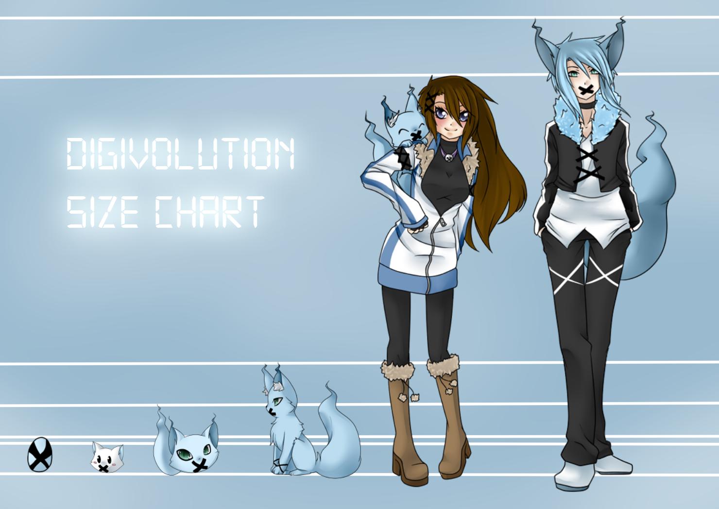 Digimon Size Chart:. by cute-uke on DeviantArt
