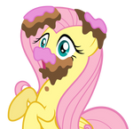 Caked Fluttershy
