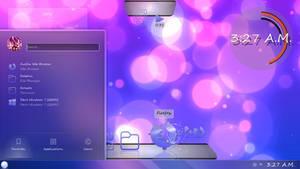 Sweet Dreams - July KDE Plasma Theme - KDE Neon
