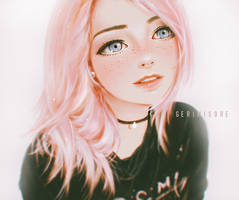Cotton Candy Girl.