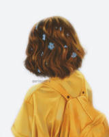Yellow Backpack. by ririss