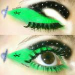 UFO Eye Art by anahaiek