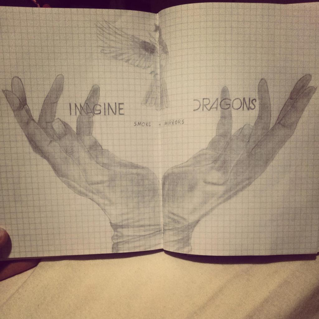 imagine dragons smoke and mirrors new album by carlitosgirl hand holding mirror tattoo17 mirror