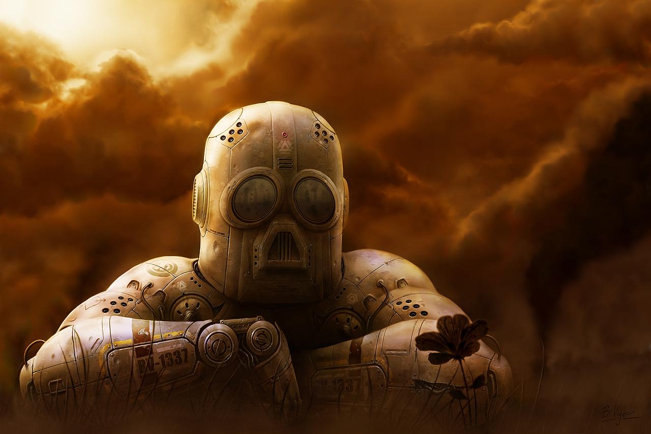 Sad robot by bvigec on DeviantArt | 1280 x 853 jpeg 719kB