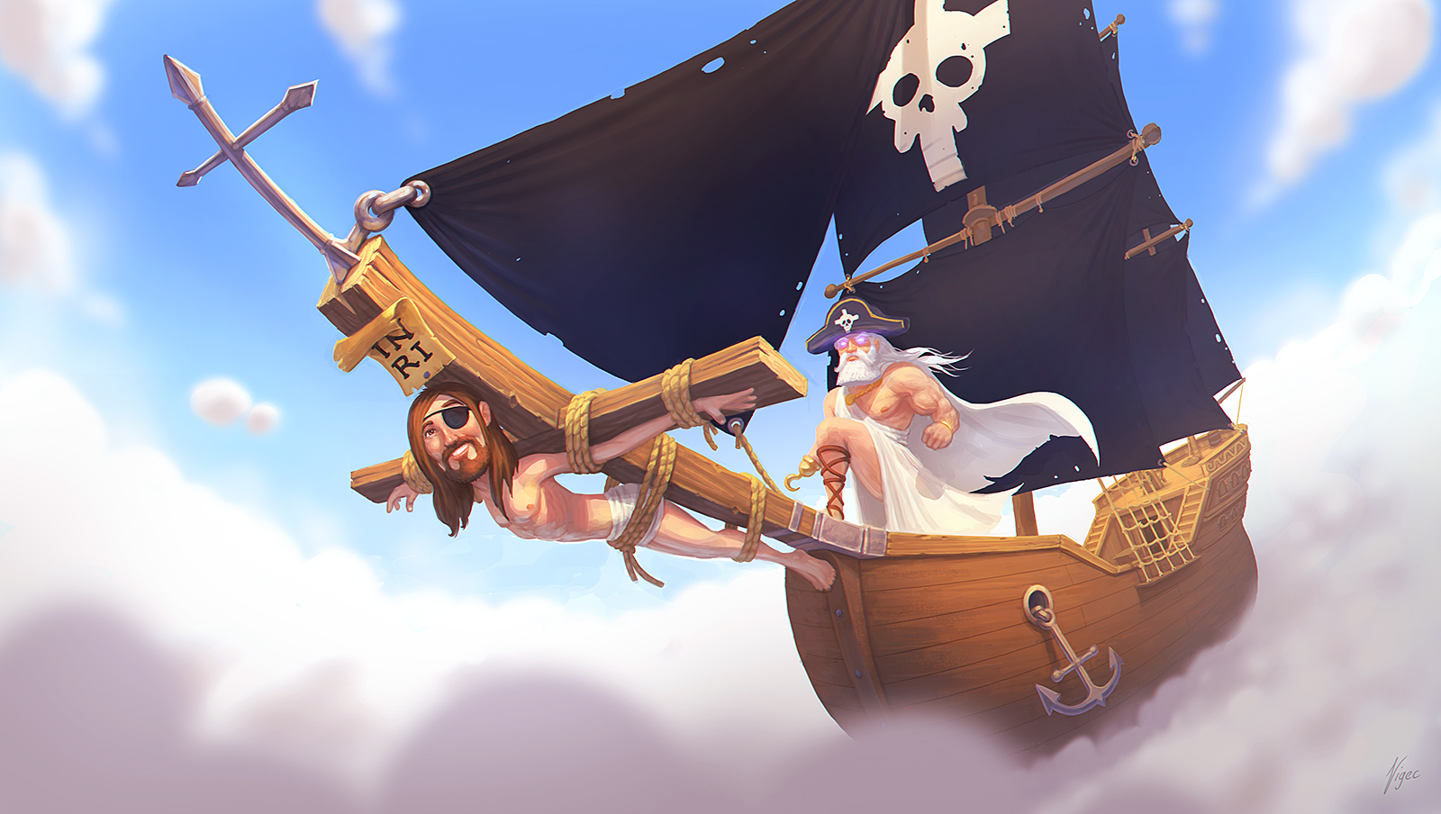 Bible Pirates by bvigec