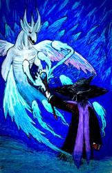 Standoff Between Sorcerers  by oliverstorm36