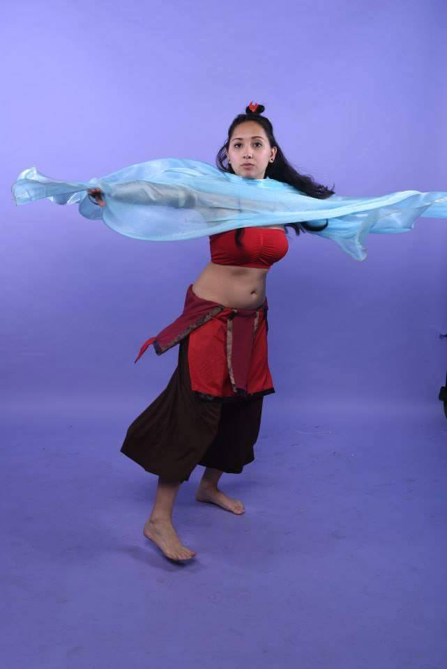 Fire nation Katara cosplay 4 by JL010203