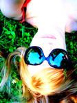 with sunglasses by bluunaa