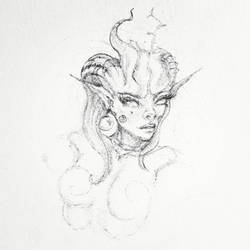 character sketch by artbyklaudiajozwiak