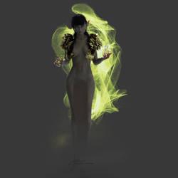 Witch by artbyklaudiajozwiak
