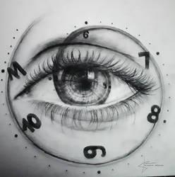 Eyeclock by artbyklaudiajozwiak