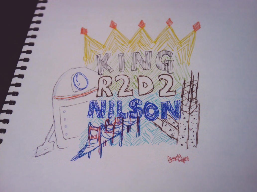 King R2D2 Nilson by Art-2