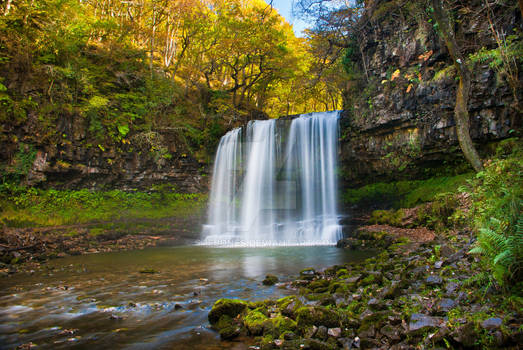 Breacon Becons waterfall