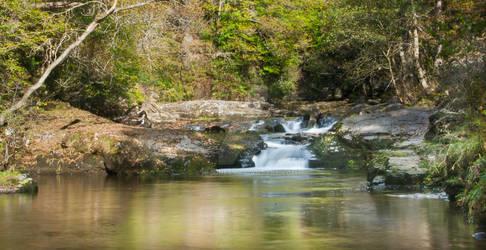 Breacon small waterfall
