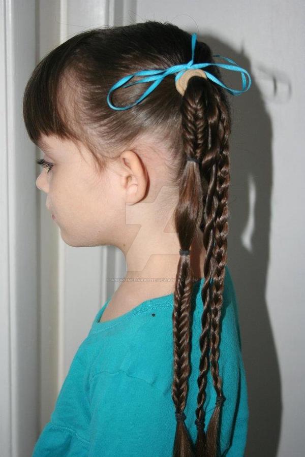 уроки причёсок фото в школу