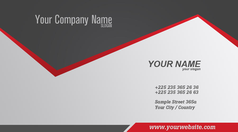 Trendy business card by cech1330 on deviantart for Hip business cards