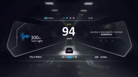 Dashboard Car Design by Cech1330