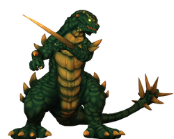(War of the Monsters) Togera:The Impaler Beast