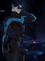 Nightwing by GasaiV
