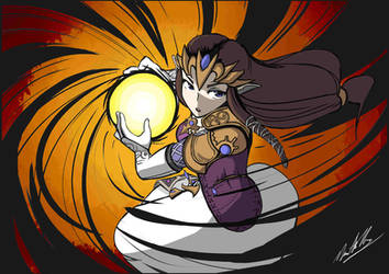 Princess Zelda by AutomaticGiraffe