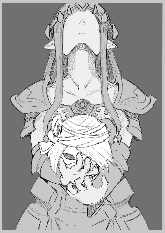Zelda mask by AutomaticGiraffe