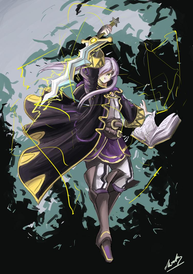 Robin commission by AutomaticGiraffe