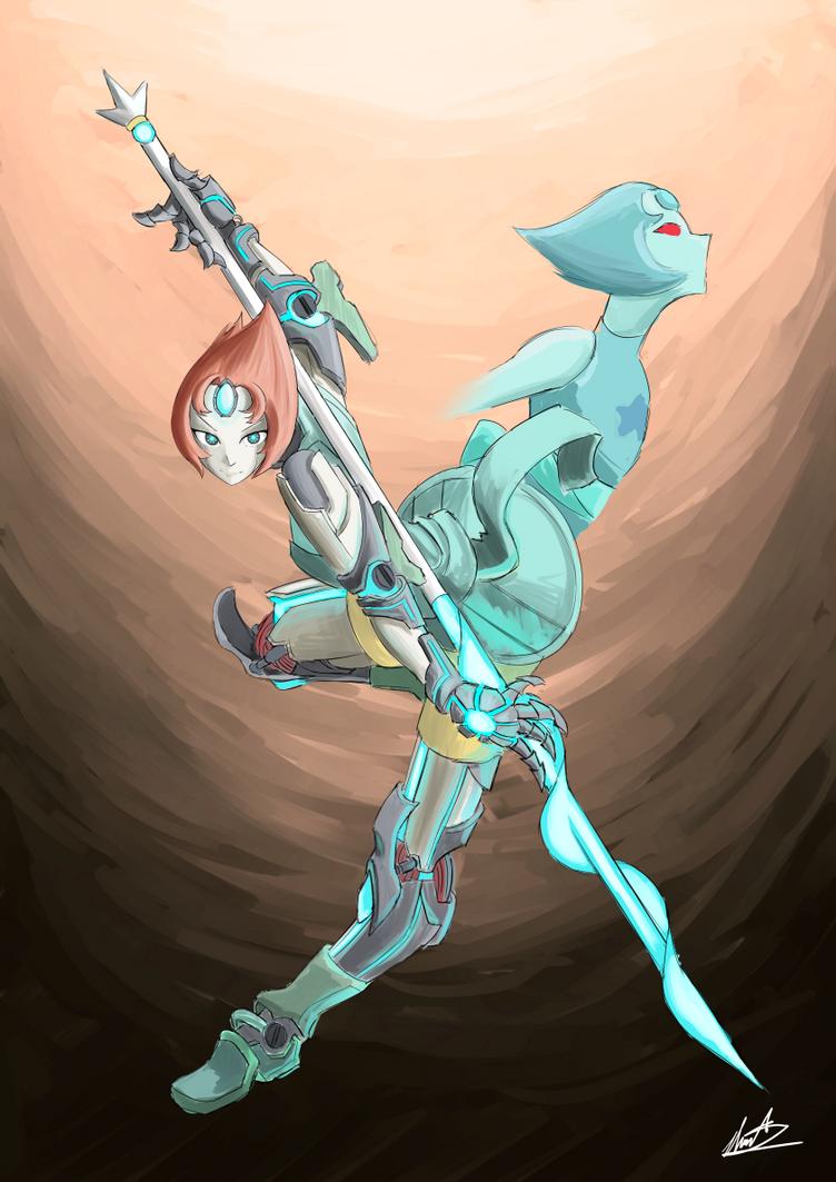 Pearl Mech by AutomaticGiraffe