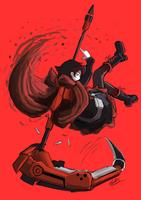 Ruby Rose by AutomaticGiraffe