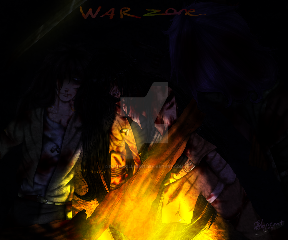 War Zone { Cover page } by Purplekiller657