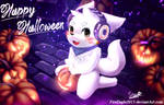 Halloween Wulf [Request] by FireEagle2015