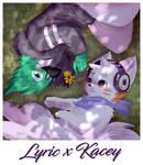 Lyric x Kacey [Commission] by FireEagle2015