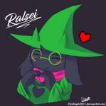 Ralsei [FanArt] by FireEagle2015
