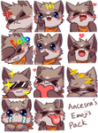 Ancesra's Emojis by FireEagle2015